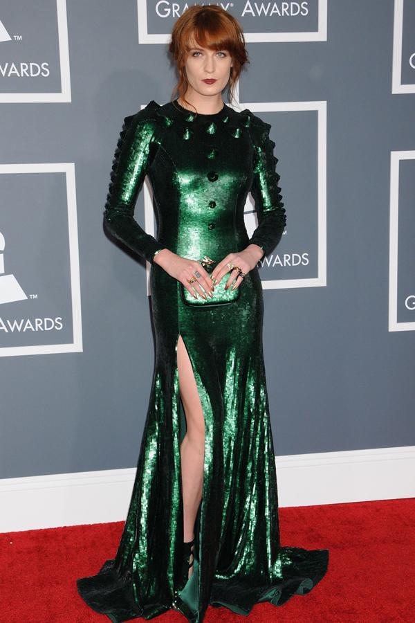 fwelch v 11feb13 rex b Fashion Police: Dodela Grammy nagrada 2013.