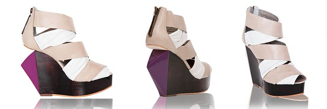 252 106 nude and purple FINSK shoes