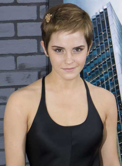 emma waton kratka kosa Nova frizura u 2011. godini