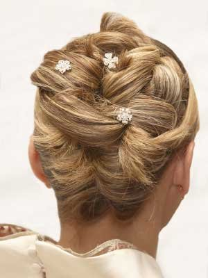 wedding updo hairstyle 03 Frizure za najlepši dan
