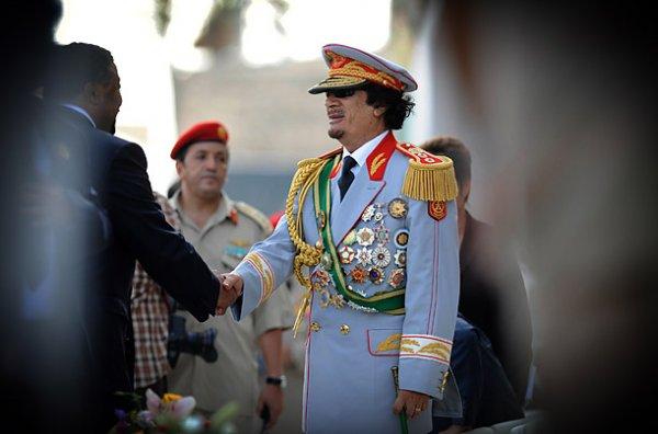 slika 10 Gadafi Fashion Icon
