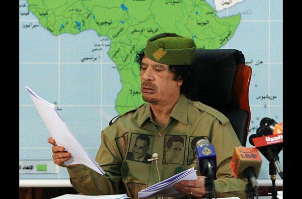 slika 14 Gadafi Fashion Icon