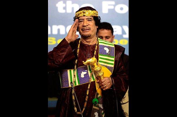 slika 17 Gadafi Fashion Icon