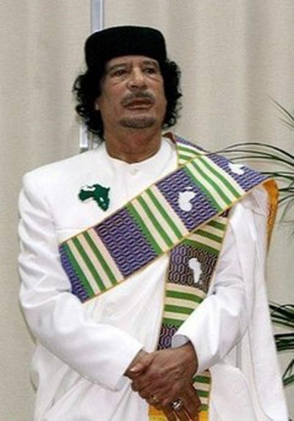 slika 21 Gadafi Fashion Icon