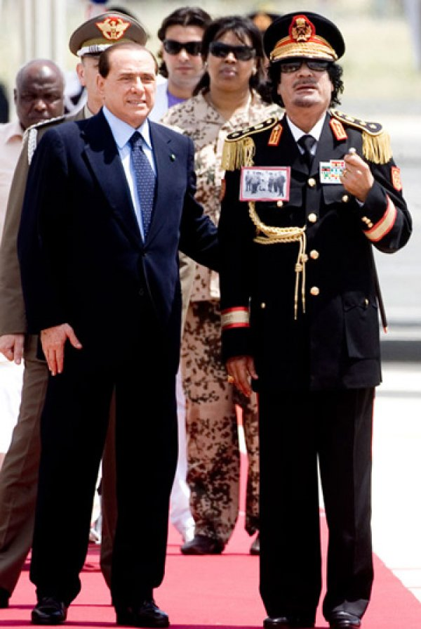 slika 24 Gadafi Fashion Icon