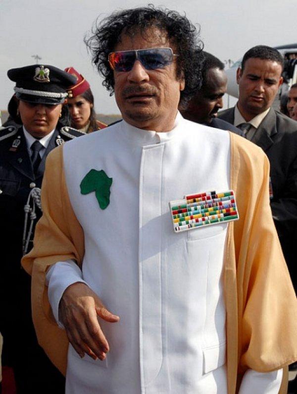 slika 26 Gadafi Fashion Icon