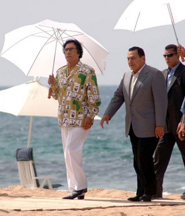slika 27 Gadafi Fashion Icon