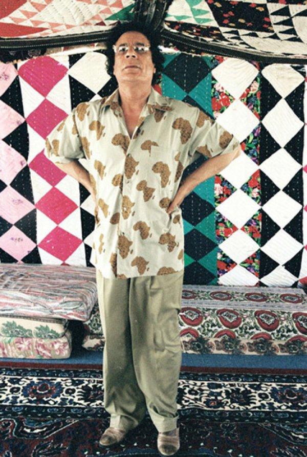slika 28 Gadafi Fashion Icon