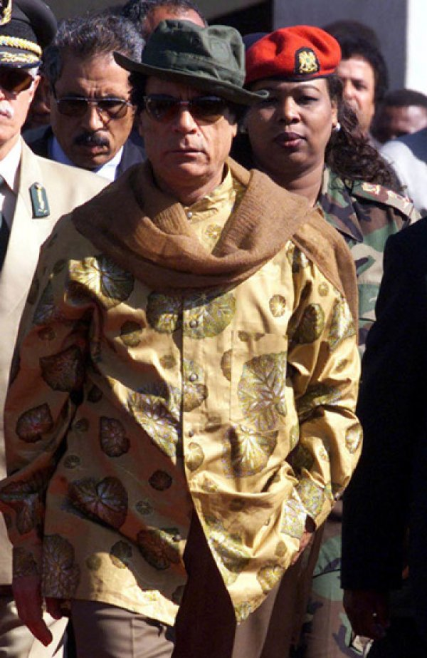 slika 29 Gadafi Fashion Icon