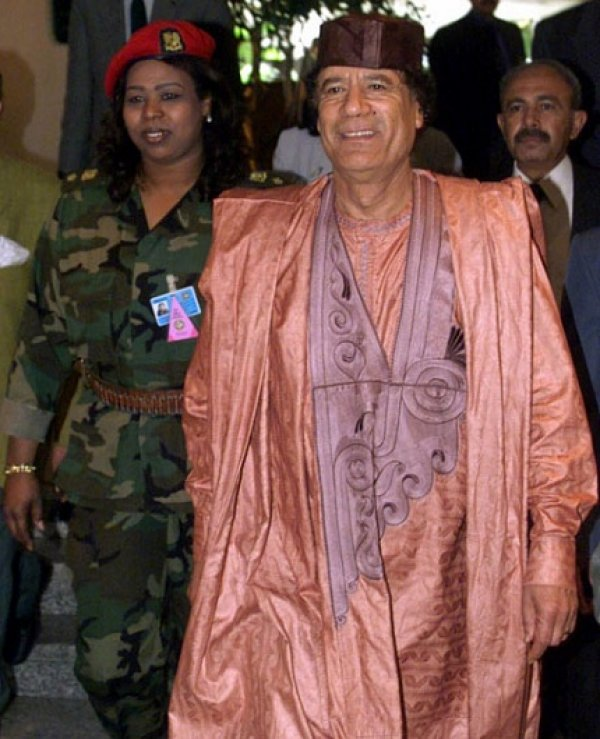 slika 30 Gadafi Fashion Icon