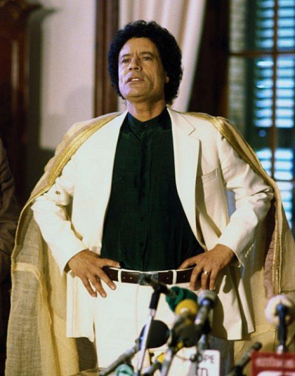 slika 31 Gadafi Fashion Icon