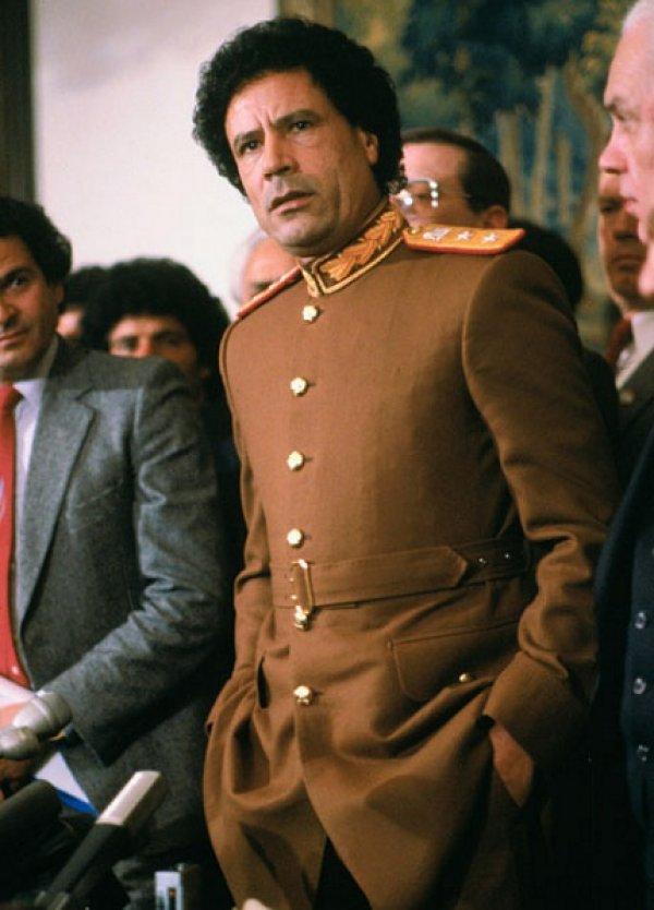 slika 32 Gadafi Fashion Icon