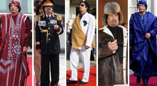 slika 8 Gadafi Fashion Icon