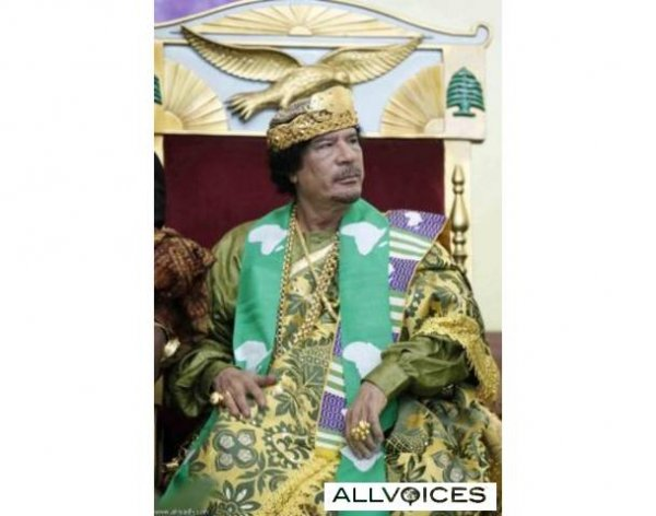 slika 9 Gadafi Fashion Icon