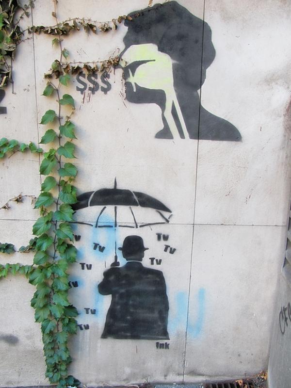 grafiti 30 Wannabe Street Art: Gornji Dorćol