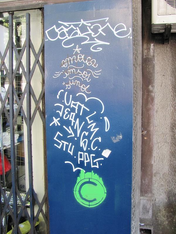 grafiti Wannabe Street Art: Gornji Dorćol