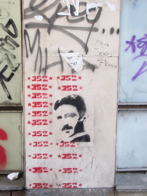 grafiti 34 Wannabe Street Art: Gornji Dorćol