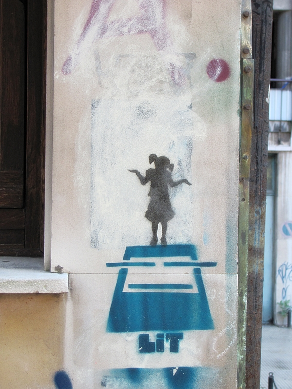 grafiti 58 Wannabe Street Art: Gornji Dorćol