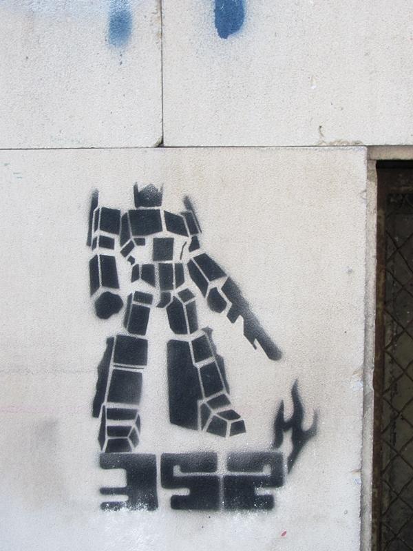 grafiti 67 Wannabe Street Art: Gornji Dorćol