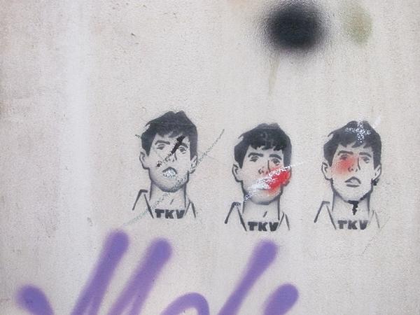 grafiti 69 Wannabe Street Art: Gornji Dorćol