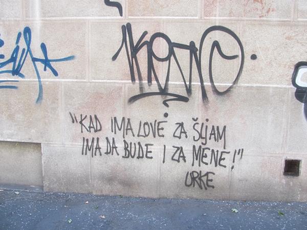 grafiti 95 Wannabe Street Art: Gornji Dorćol