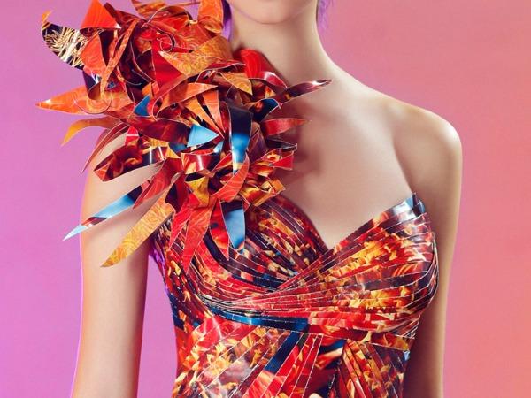 5 Glamurozne origami haljine by Lia Griffith