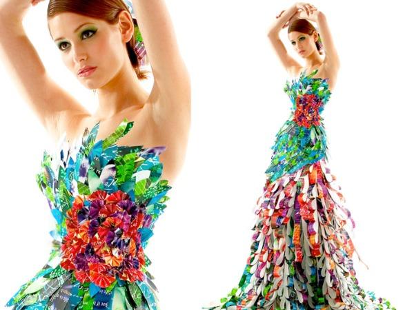 6 Glamurozne origami haljine by Lia Griffith