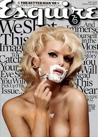 jessica simpson cover naked Golišave naslovnice