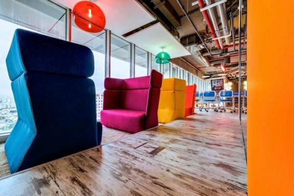 google offices tel aviv 11 600x400 Google kancelarija u Tel Avivu: Spoj kreativnog i modernog