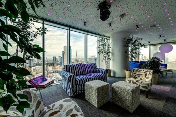 google offices tel aviv 9 600x400 Google kancelarija u Tel Avivu: Spoj kreativnog i modernog