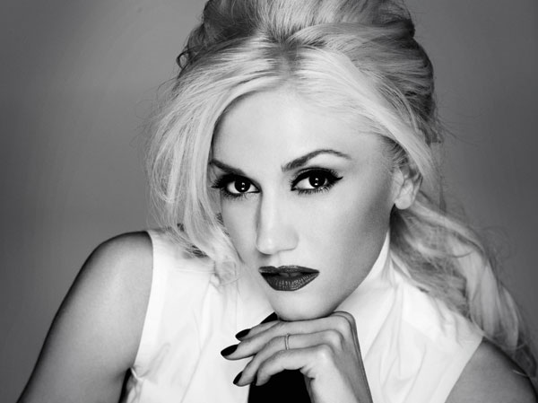 gwen stefani Hollywood Red Lips: Gwen Stefani