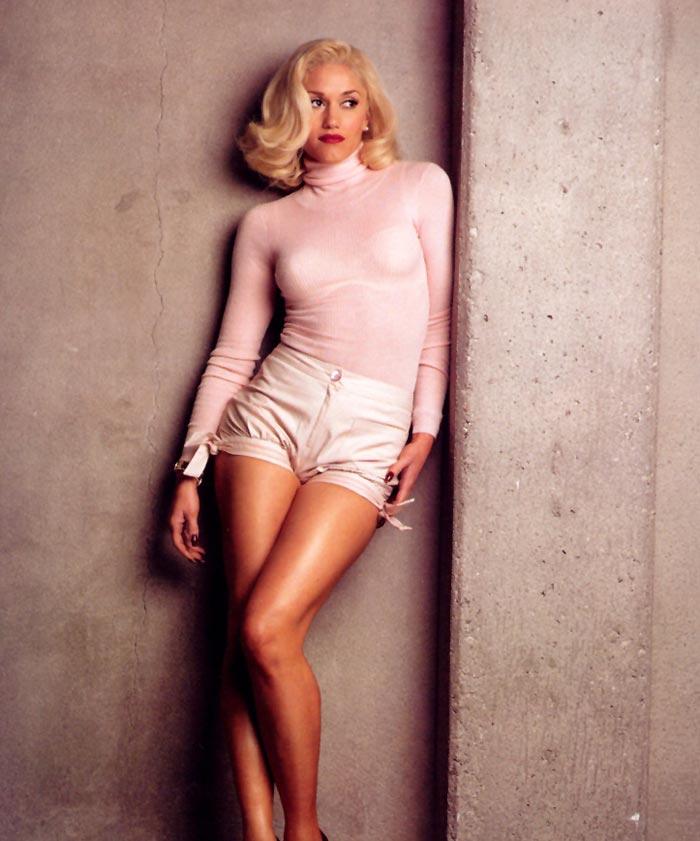 gwenstefani 23 Hollywood Red Lips: Gwen Stefani