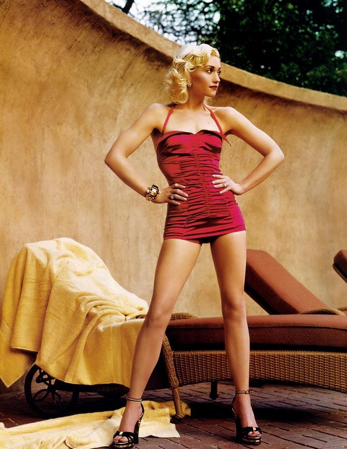 gwenstefani 31 Hollywood Red Lips: Gwen Stefani
