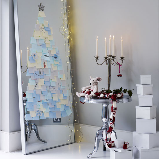 christmas tree livingetc Inspiracija za jelku