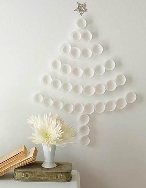 cupcake holder christmas tree Inspiracija za jelku