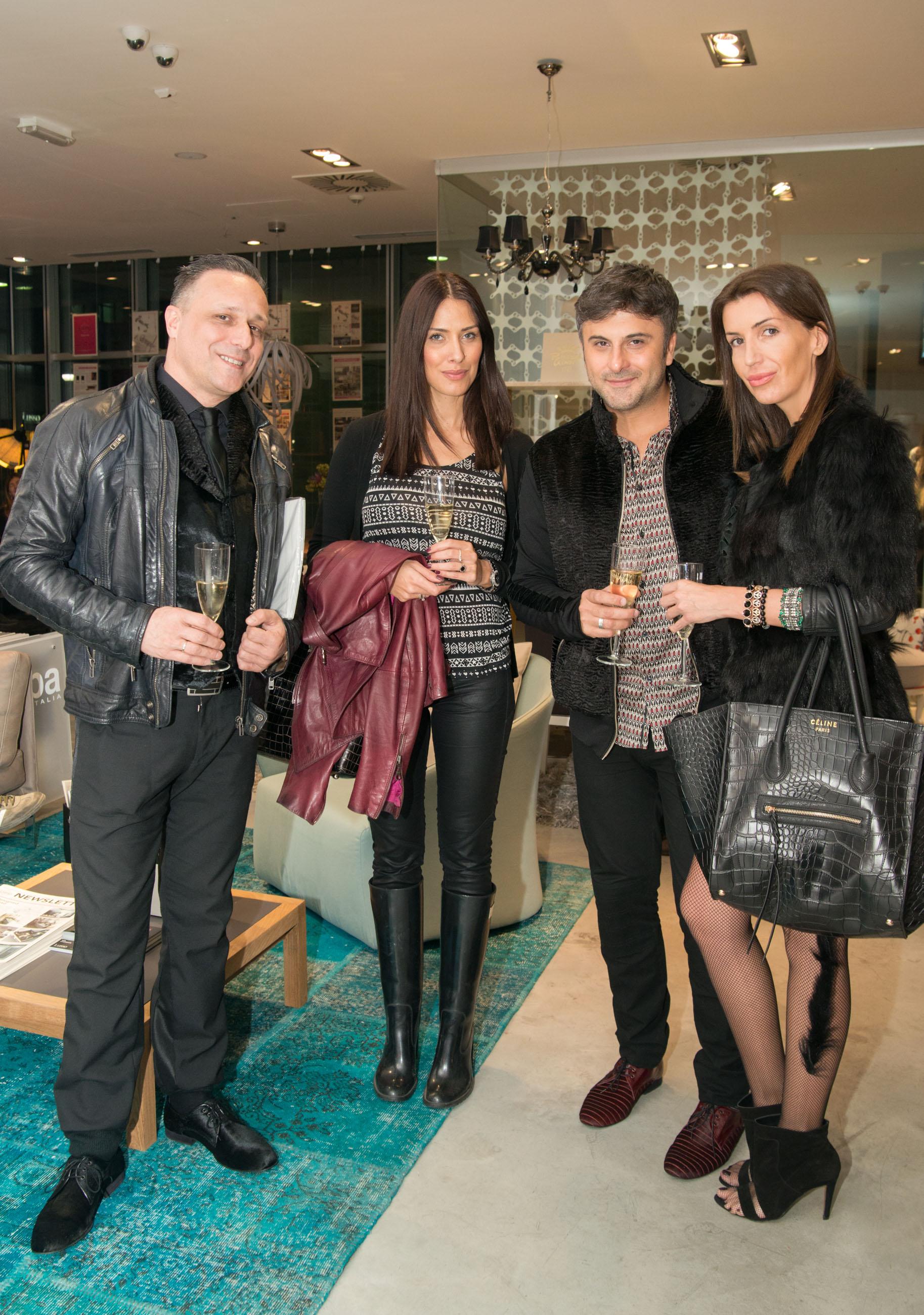 katarina vu eti  bata spasojevic ivana milovic 3 Italijanski luksuz oduševio poznate