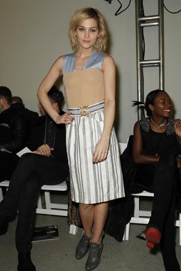 slika 16 Iz prvog reda: New York Fashion Week