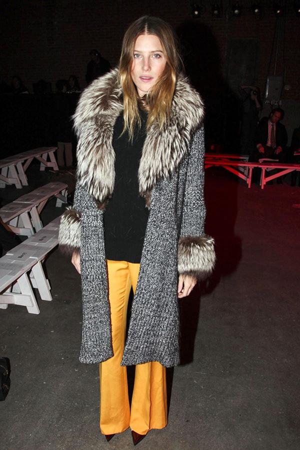 slika 18 Iz prvog reda: New York Fashion Week