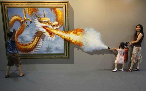 slika 7 Fantastična 3D umetnost