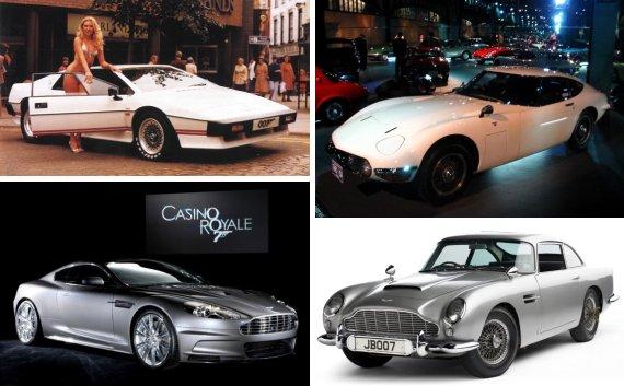 james bond autos msp1 Moje ime je Bond. Džejms Bond.