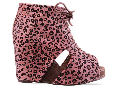 jeffrey campbell shoes mary fur pink cheetah 010604 Jeffrey Campbell manija
