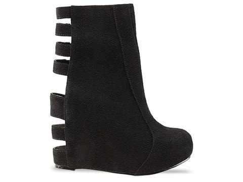 jeffrey campbell shoes pixie cut black suede 010604 Jeffrey Campbell manija