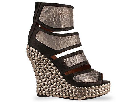 jeffrey campbell shoes robot black silver 010604 Jeffrey Campbell manija