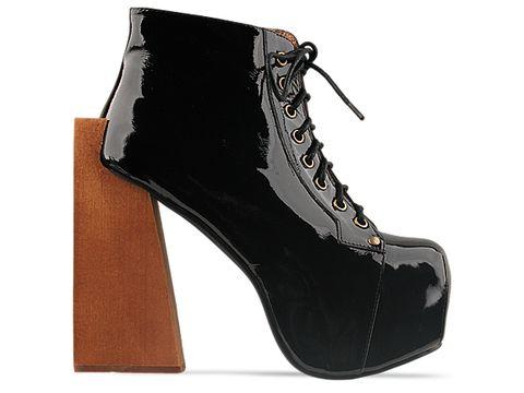 jeffrey campbell shoes security black patent 010604 Jeffrey Campbell manija