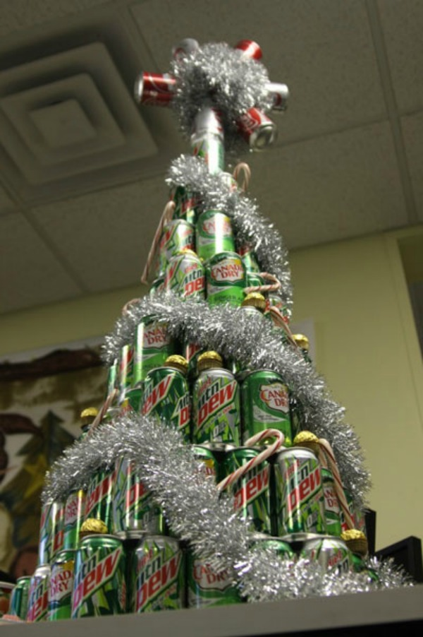 christmas tree moutain dew Da Vinci XXI: Dizajnom protiv teških vremena