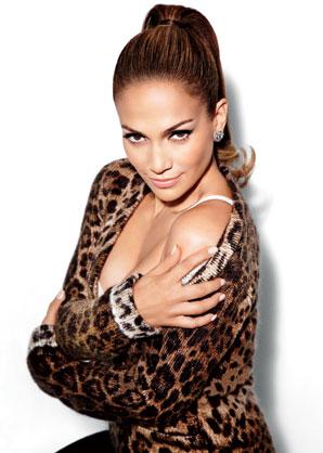 0727 jennifer lopez glamour leopard top at Jennifer Lopez