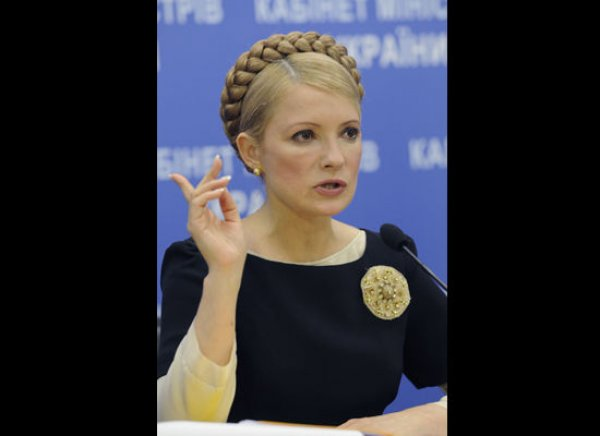 slika 15 Julija Timošenko – plemkinja iz naroda