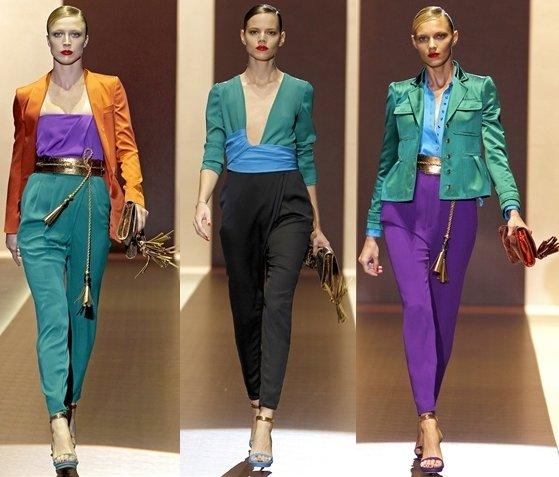 milan fashion week opens with gucci springsummer 2011 collection 1 Prolećni trend: kapri pantalone