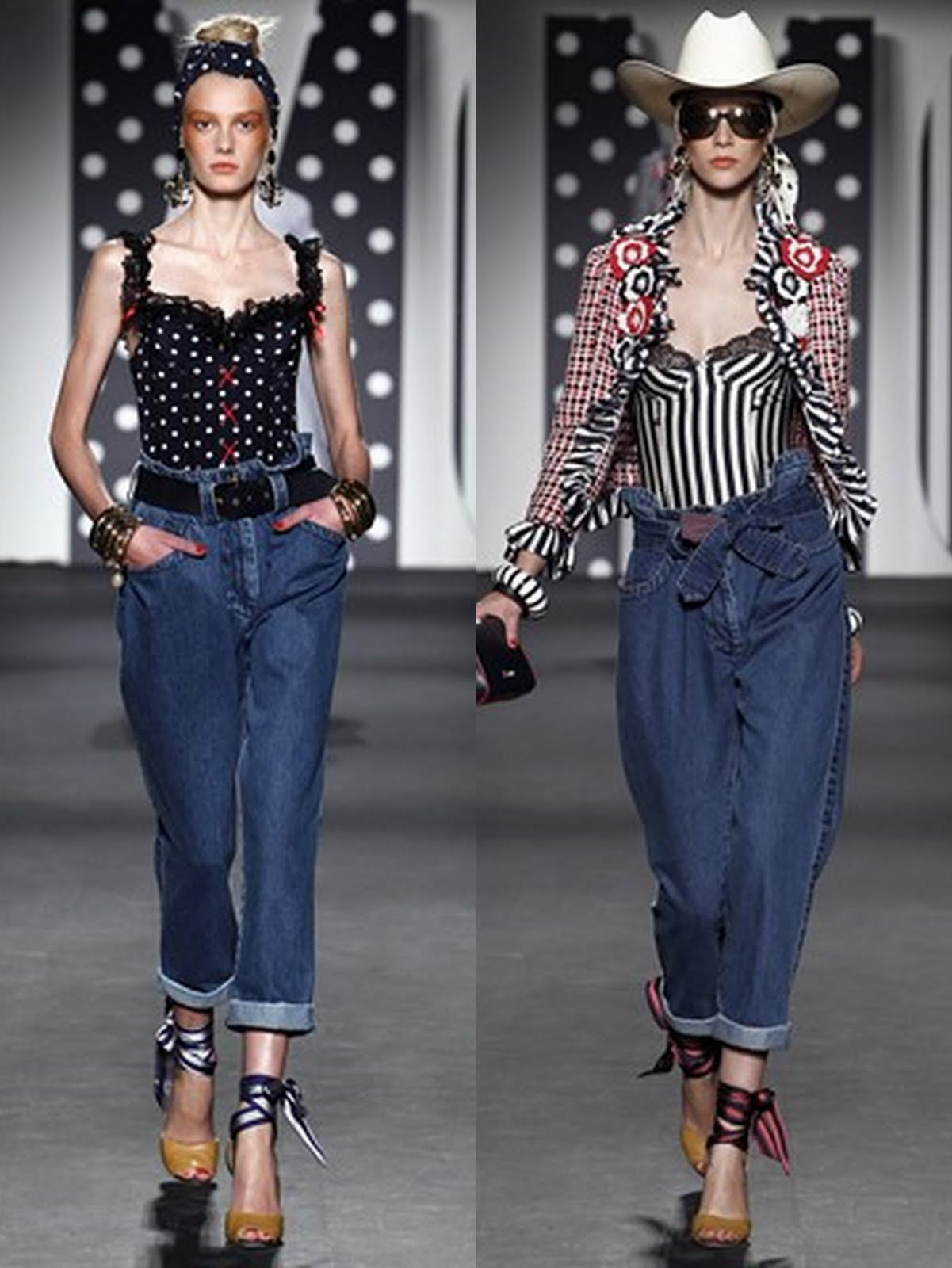 moschino ss 201115 Prolećni trend: kapri pantalone