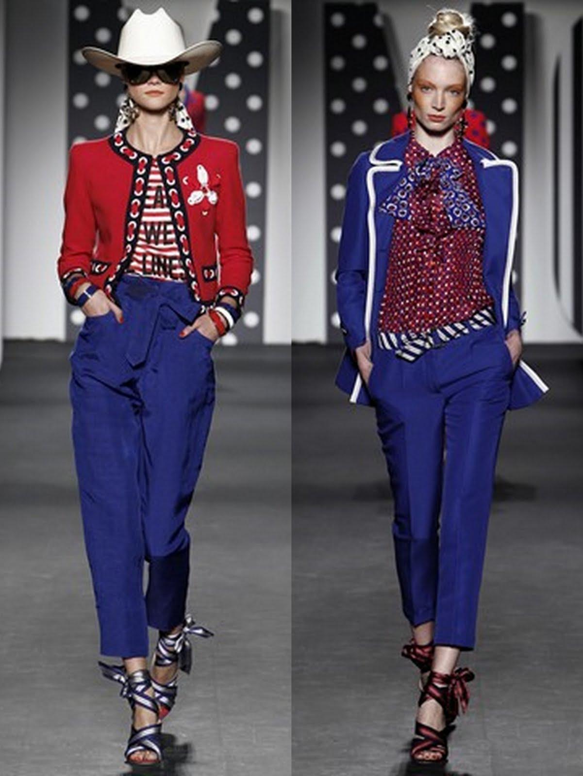 moschino ss 201119 Prolećni trend: kapri pantalone